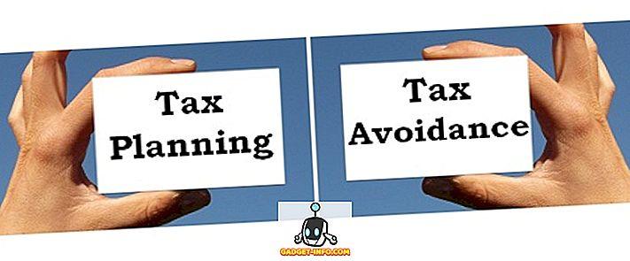 diferencia entre: Diferencia entre la planificación fiscal y la evasión fiscal