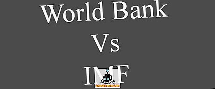 Erinevus IMFi ja Maailmapanga vahel