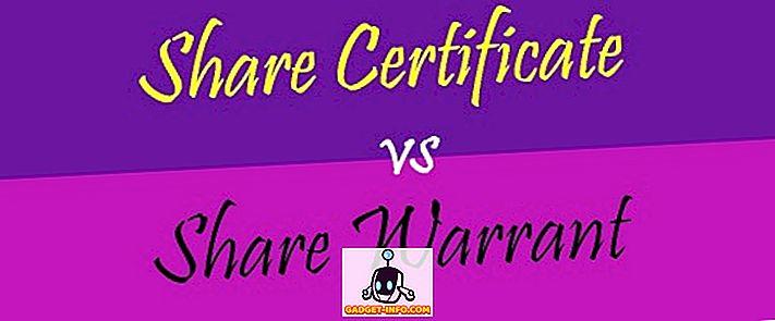 vahe - Aktsia-sertifikaadi ja aktsiagarantii erinevus