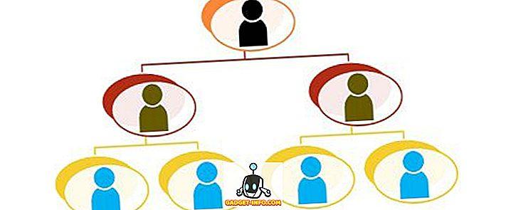 Diferencia entre línea y línea y organización de personal