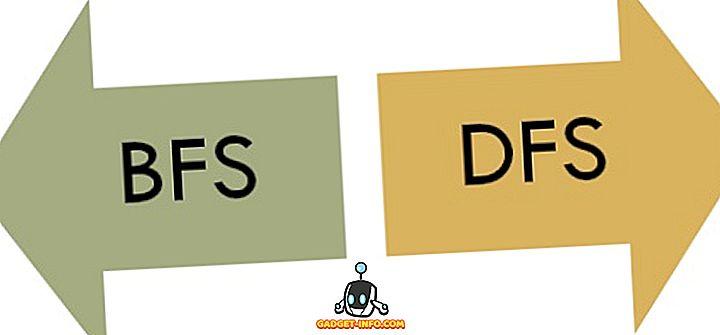 Starpība starp BFS un DFS