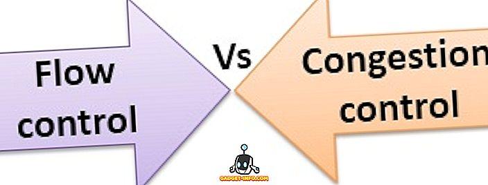 diferença entre - Diferença entre controle de fluxo e controle de congestionamento
