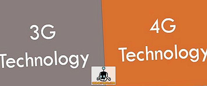 Unterschied zwischen 3G- und 4G-Technologie