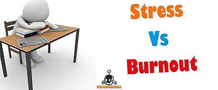 разлика между - Разлика между стреса и изгарянето