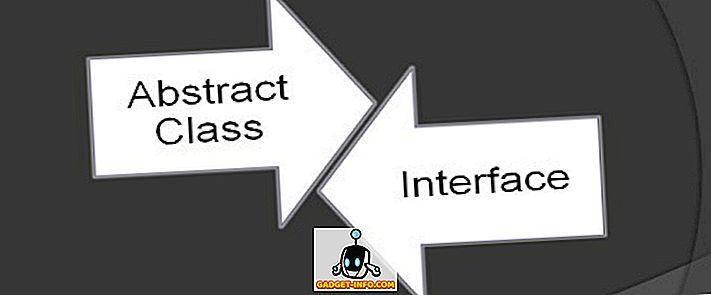 الفرق بين فئة الملخص والواجهة في C #