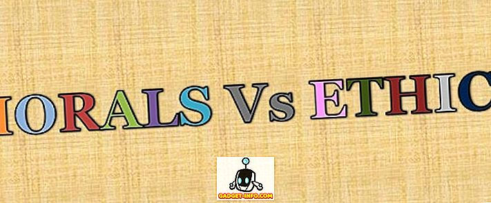 rozdiel medzi: Rozdiel medzi morálkou a etikou