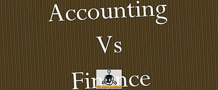 différence entre - Différence entre comptabilité et finance