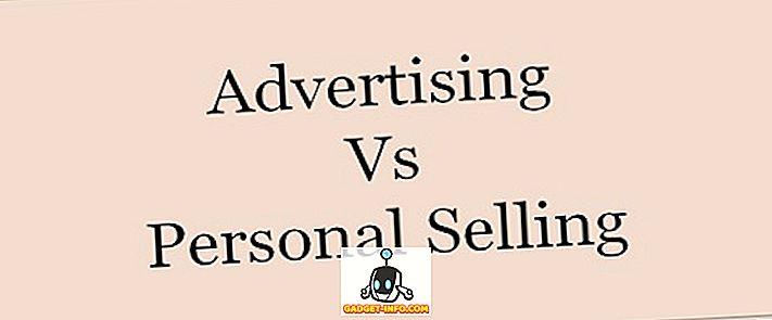 Skillnad mellan reklam och personlig försäljning
