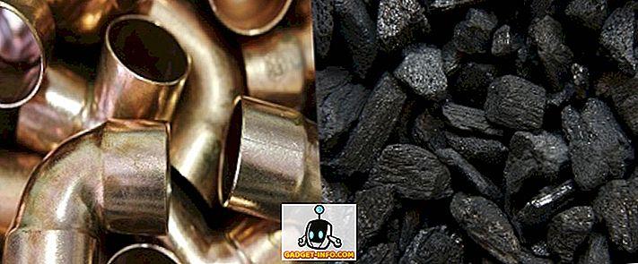 Unterschied zwischen Metallen und Nichtmetallen