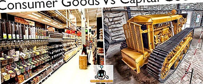 Różnica między towarami konsumpcyjnymi a dobrami kapitałowymi - różnica pomiędzy - 2019