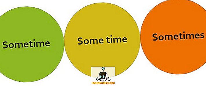 vahe: Erinevus millalgi, mõne aja ja mõnikord vahel