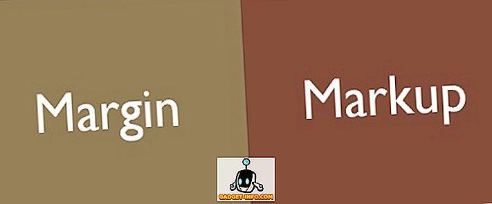 Atšķirība starp Margu un atzīmi