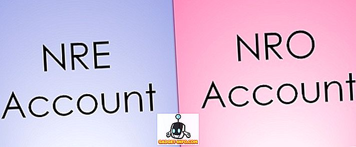 Starpība starp NRE un NRO kontu