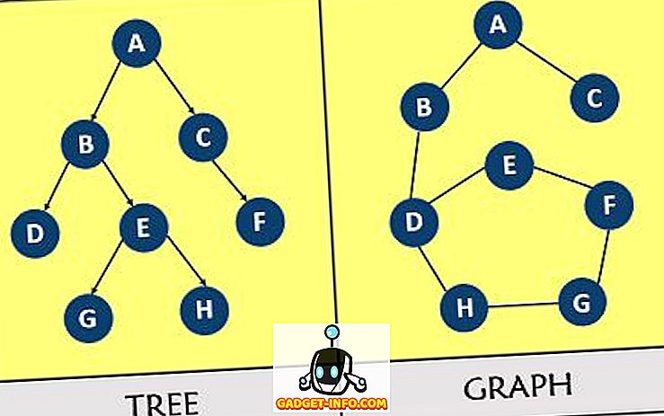 Differenza tra albero e grafico
