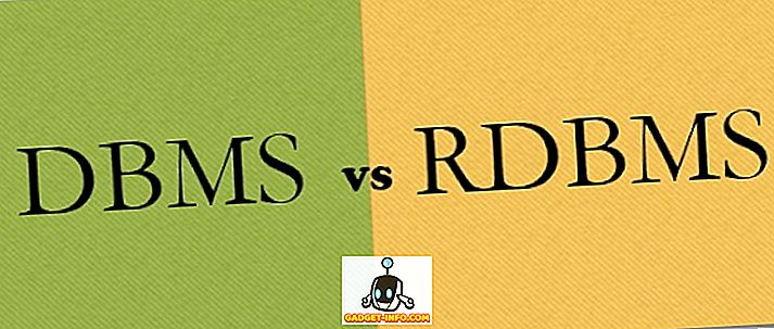 Rozdiel medzi DBMS a RDBMS