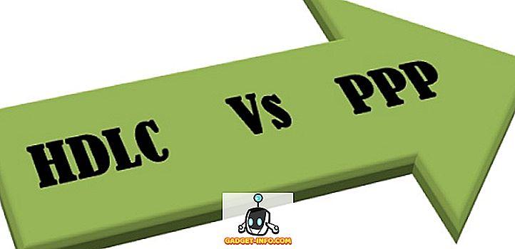 Sự khác biệt giữa HDLC và PPP