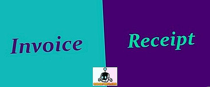 Forskel mellem faktura og kvittering