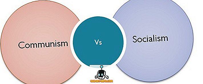differenza tra: Differenza tra comunismo e socialismo