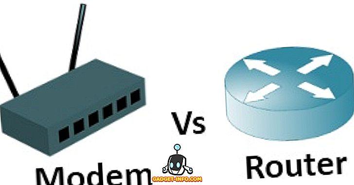 Unterschied zwischen Modem und Router