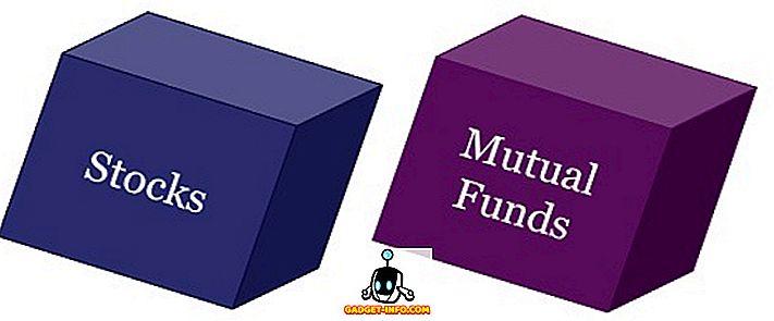 разница между - Разница между акциями и взаимными фондами