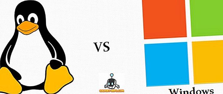Forskel mellem Linux og Windows Operating System