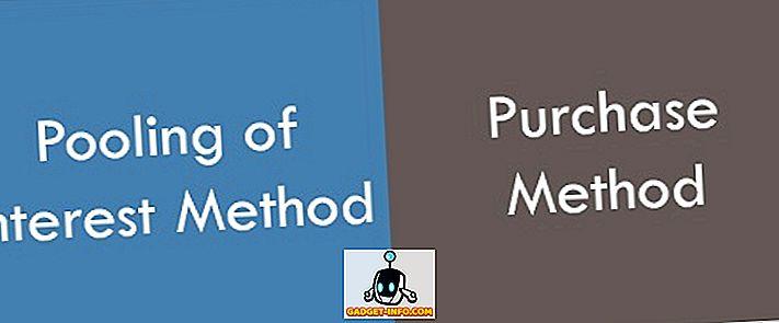 Разлика између методе обједињавања интереса и методе куповине