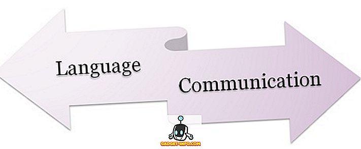 razlika između - Razlika između jezika i komunikacije