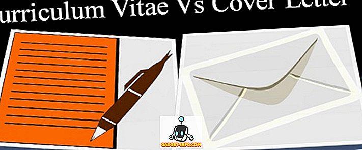 rozdiel medzi: Rozdiel medzi CV a krycím listom