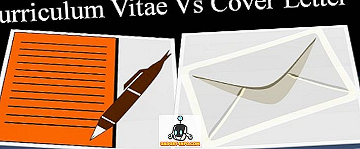 CV와 커버 레터의 차이점