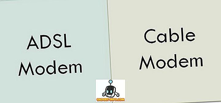 разлика између - Разлика између АДСЛ-а и кабловског модема