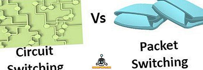 Unterschied zwischen Stromkreisumschaltung und Paketumschaltung