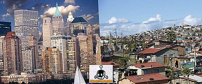 Différence entre pays développés et pays en développement