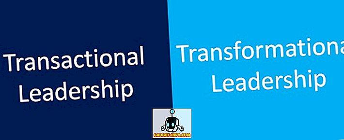Erinevus tehingu ja transformatsiooni juhtimise vahel
