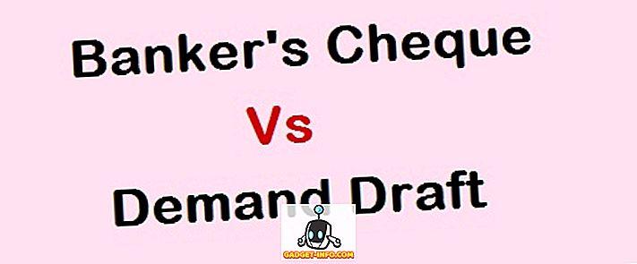 Unterschied zwischen - Unterschied zwischen Bankscheck (Pay Order) und Demand Draft