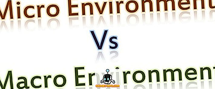 الفرق بين البيئة الدقيقة والماكرو