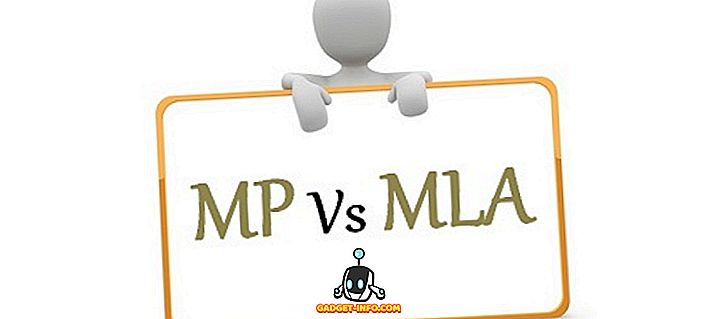Differenza tra MLA e MP