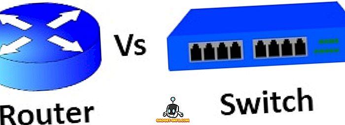 Unterschied zwischen Router und Switch