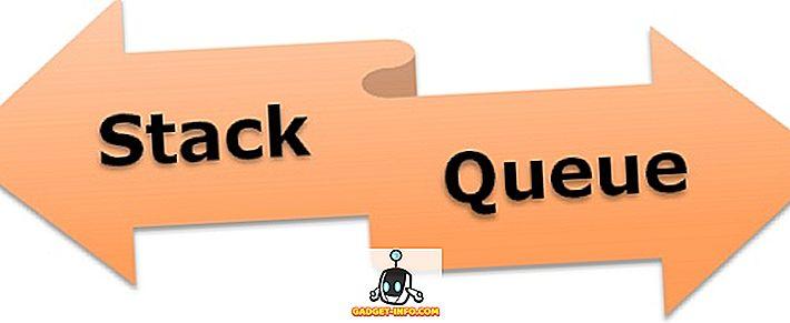 vahe: Stack ja Queue erinevus