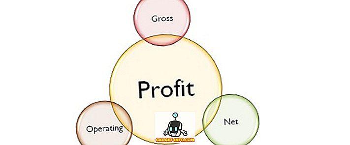 verschil tussen - Verschil tussen bruto, bedrijfs- en nettowinst