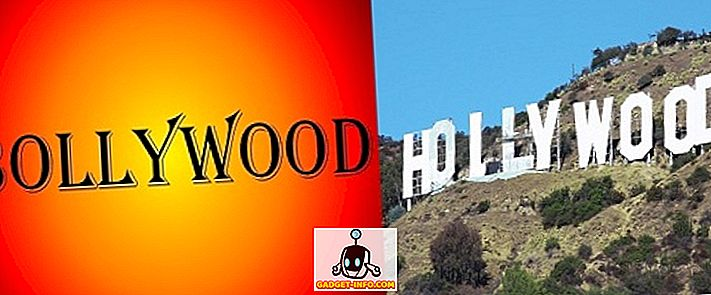 Разлика между Боливуд и Холивуд