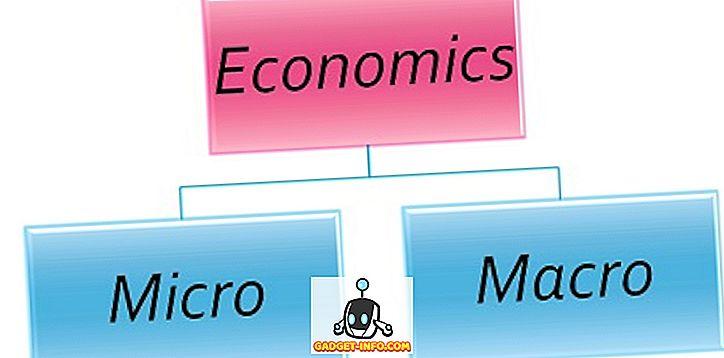 Razlika med mikro in makro ekonomijo