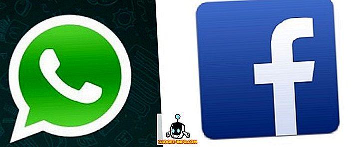 ความแตกต่างระหว่าง WhatsApp และ Facebook