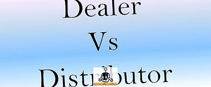 forskel mellem - Forskel mellem forhandler og distributør