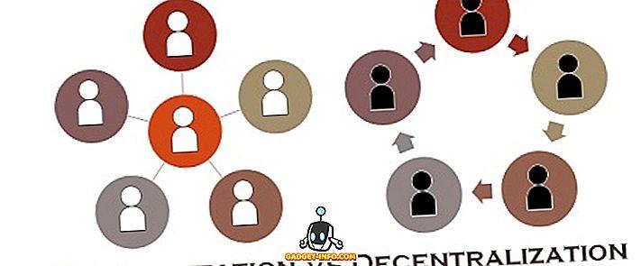 Разлика между централизация и децентрализация