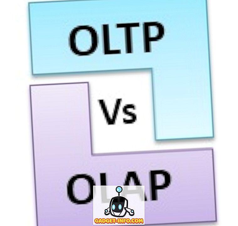 Forskjellen mellom OLTP og OLAP