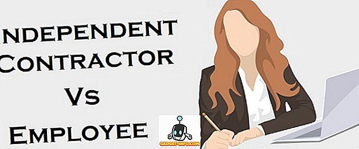 Sự khác biệt giữa nhân viên và nhà thầu độc lập