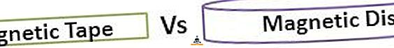 Forskel mellem magnetbånd og magnetisk disk