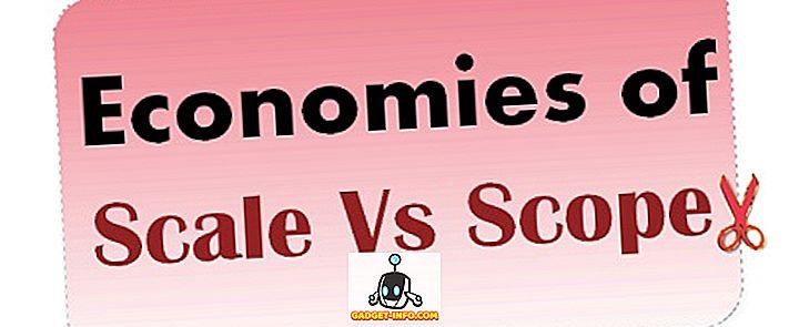 różnica pomiędzy - Różnica między korzyściami skali a korzyściami skali