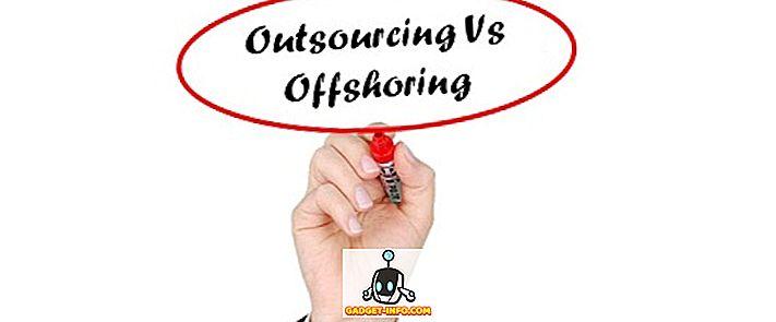 Unterschied zwischen Outsourcing und Offshoring