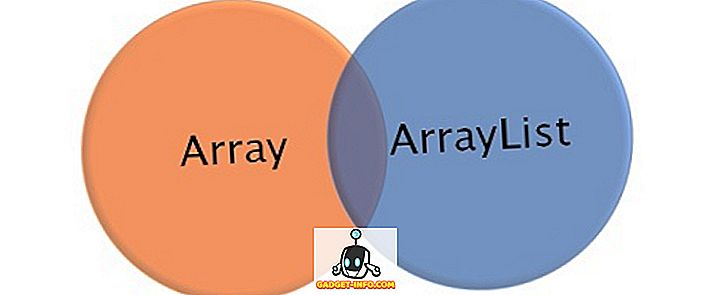 Differenza tra array e ArrayList in C #